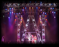 Stage Lighting Production Rental