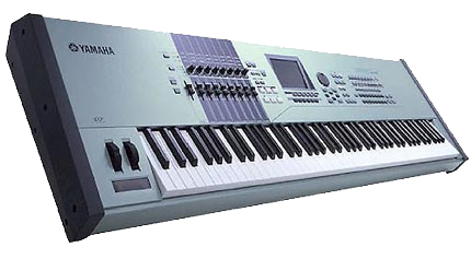 Yamaha Motif Keyboard Rental