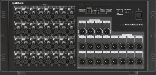 Audio consoles large sound systems pa rental pro for Yamaha m7cl dante