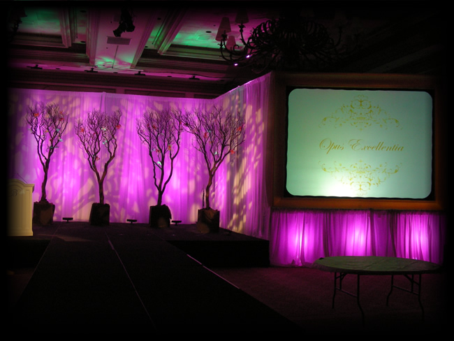 Audio Visual and Decor lighting for Enjo at the Bellagio Hotel and Casino