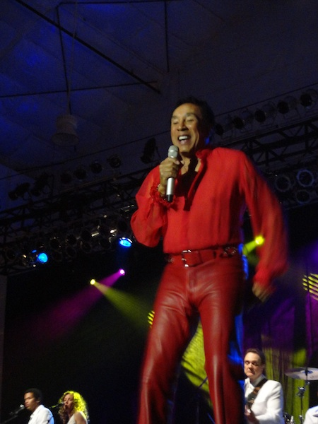 Smokey Robinson Picture Smokey Robinson at the Edgewater in Laughlin