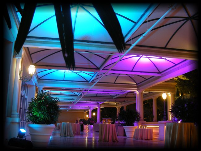 Decor lighting with LED fixtures for special event ... : special lighting - azcodes.com
