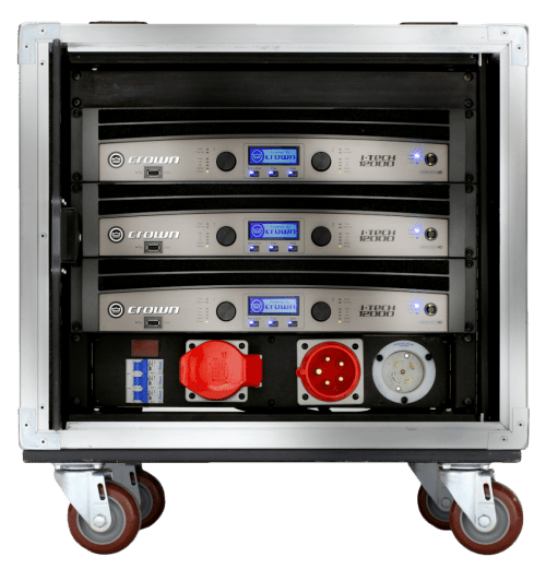Crown Audio V-Rack with 4 I-Tech 3500HD