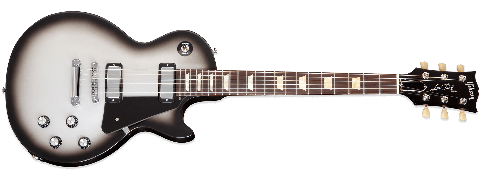 Front view of Gibson Les Paul Guitar