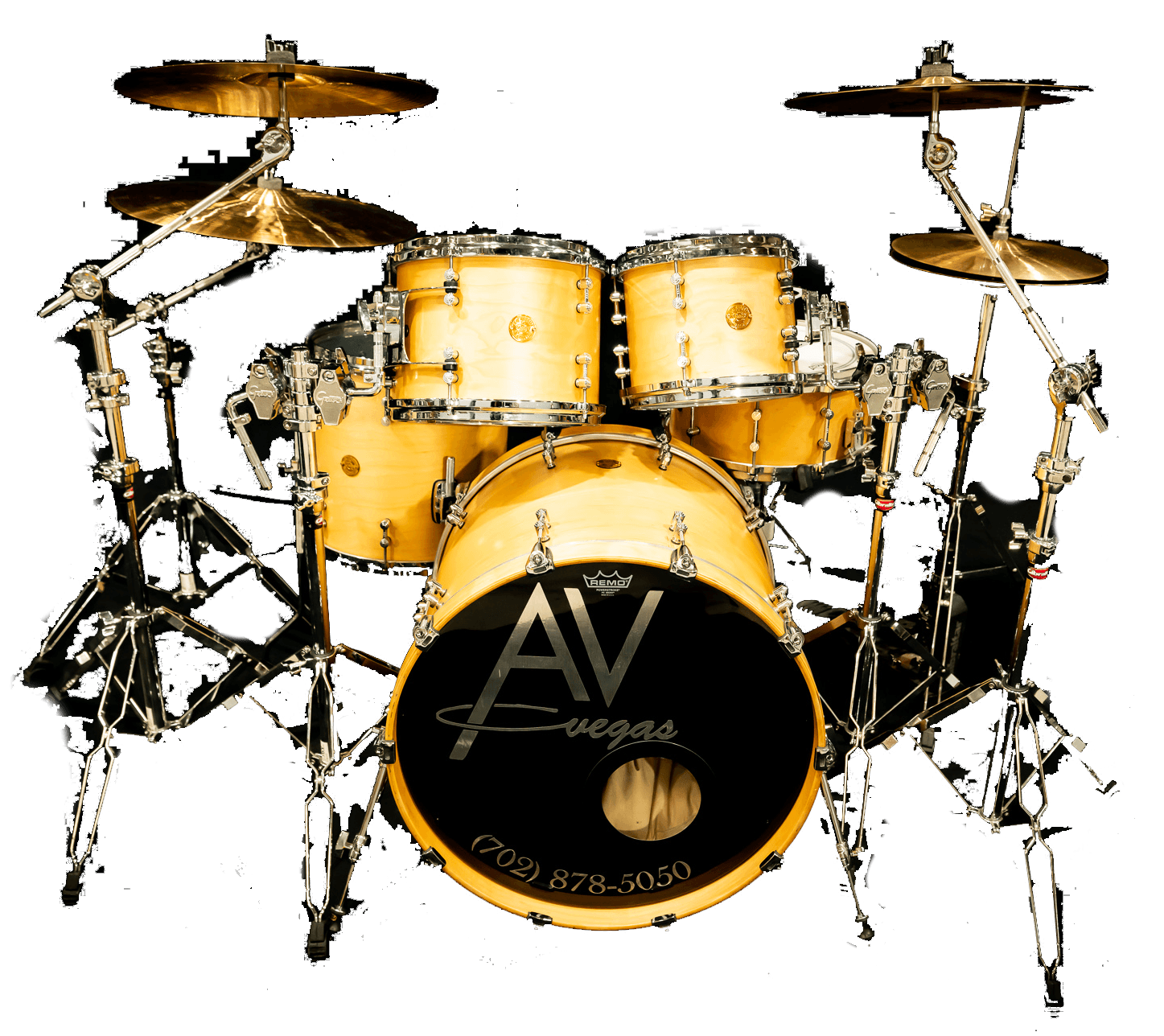 Gretsch drum kit