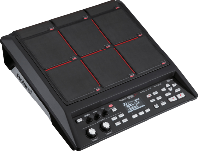 top view of Roland SPD-SX drum machine