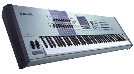 Yamaha Motif 88 key Digital Synthesizer and Piano