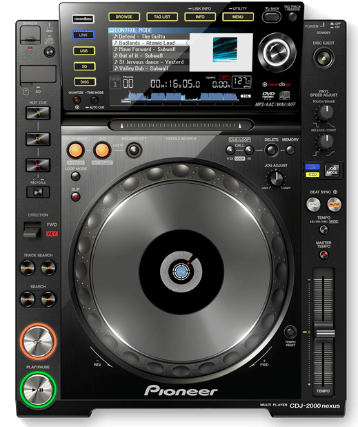 Pioneer CDJ2000 Nexus CD Player for DJs