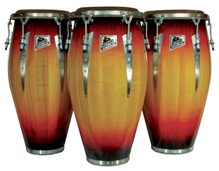 Three Piece Conga Drum Set