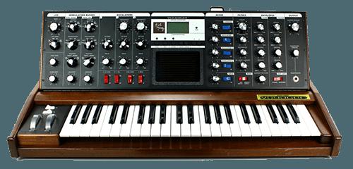 Mini Moog Voyager Keyboard