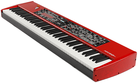 side view of Nord Stage EX2 Keyboard