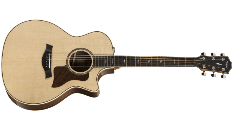 Taylor Acoustic Guitar Front View