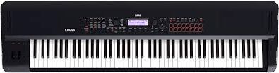 Korg 88 key electronic keyboard.