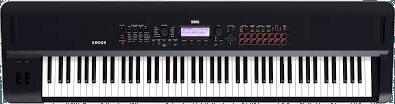 Korg 88 key electronic keyboard.