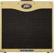 front view of Peavey Classic 50 guitar amplifier