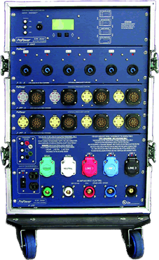 Blue Power Distribution Box