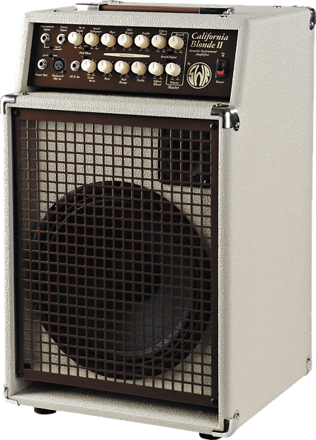 Amplifier for acoustic guitar made by SWR
