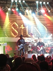 Styx stage with lighting
