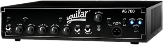 Front view of Aguilar DB751 Bass Amplifier