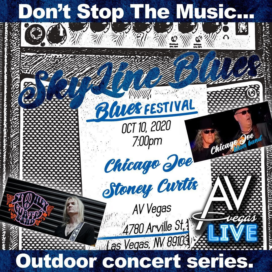 AV Vegas Blues Concert