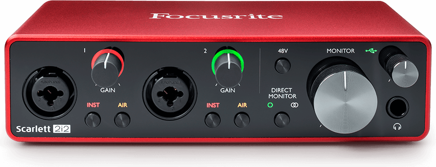 Focusrite 2i2 USB Audio Interface