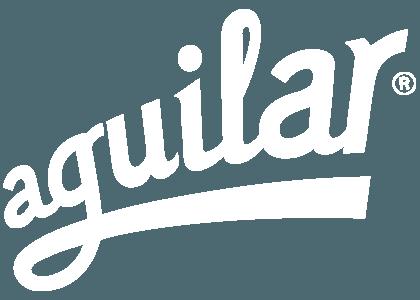 Aguilar logo white