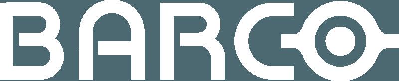 Barco logo white