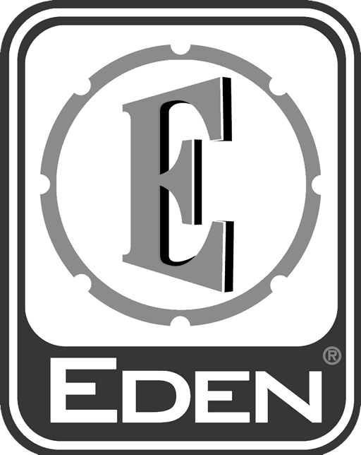 David Eden logo white