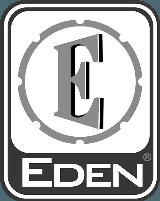 David Eden logo white
