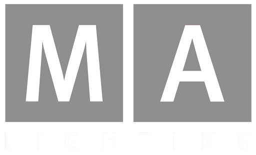 MA Lighting logo white