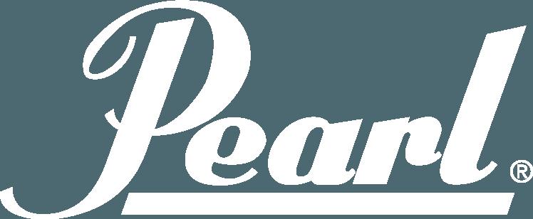 Pearl logo white
