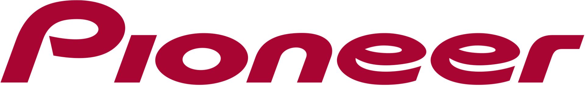 Pioneer logo red