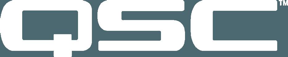 QSC logo white