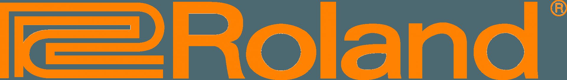 Roland logo orange