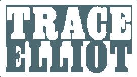 Trace Elliot logo white