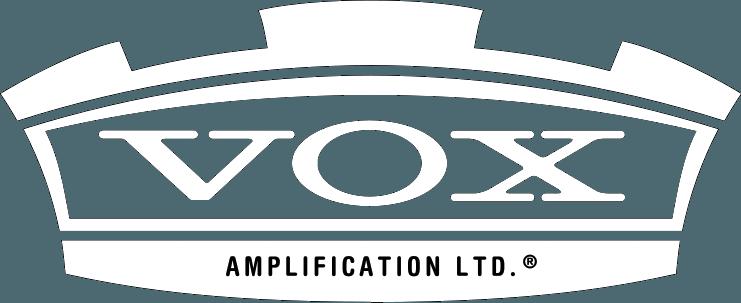 Vox logo white