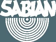 Sabian logo white